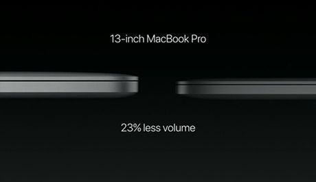 MacBook Pro trinh lang voi thiet ke mong hon, nhe hon, manh hon - Anh 2