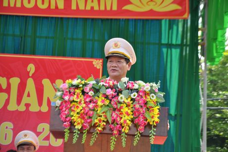 Truong Dai hoc PCCC - co so 3 khai giang nam hoc moi - Anh 1