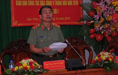 Giao ban cong tac XDLL 5 thanh pho truc thuoc Trung uong - Anh 4