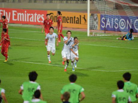 U19 Viet Nam - U19 Nhat Ban: Kien cuong chong tra - Anh 1