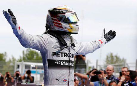 "F1, Mexican GP: Hamilton can lam ""Than may man"" - Anh 1"