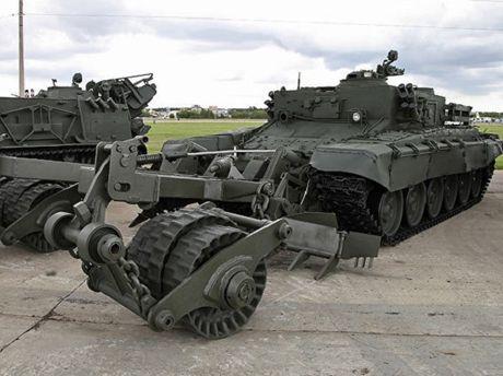 Nga phat trien xe pha bom min khong nguoi lai tren khung gam Armata - Anh 1