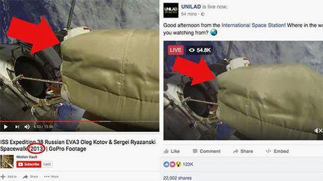 Hang trieu luot thich video truc tuyen gia mao tu Tram vu tru ISS - Anh 1