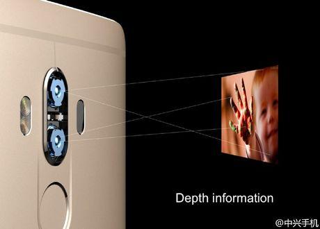 ZTE Axon 7 Max chinh thuc: man hinh Naked 3D, camera kep - Anh 2
