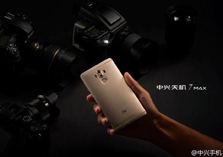 ZTE Axon 7 Max chinh thuc: man hinh Naked 3D, camera kep - Anh 3