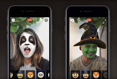 "Facebook vua ra ""mat na ma"" cho Facebook Live trong mua Halloween - Anh 1"