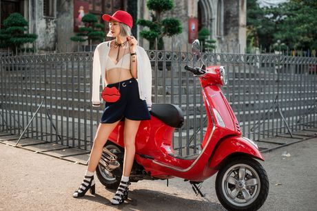 Phong cach streetstyle day ngau hung cua stylist 9X Ha thanh - Anh 4