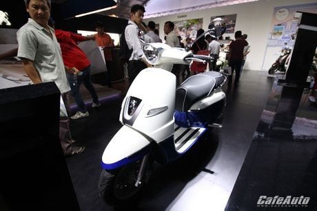 Chi tiet xe tay ga Peugeot Django moi ra mat tai Viet Nam - Anh 7