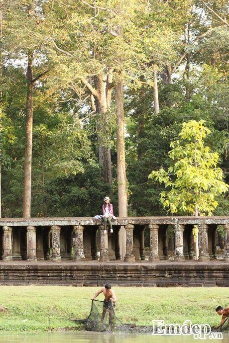 Kham pha Angkor bang xe dap - Anh 10