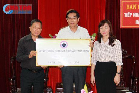 Hoi nguoi Viet tai Sakon Nakhon ung ho dong bao lu lut Ha Tinh - Anh 2