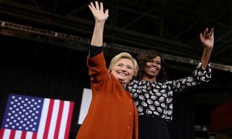Ba Obama: Clinton la ung vien tong thong 'dinh' nhat trong lich su My - Anh 1