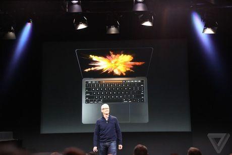 Apple trinh lang MacBook Pro voi thanh cam ung da chuc nang - Anh 1