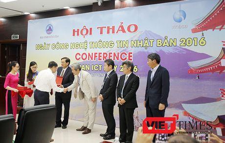 Hon 30 Hiep hoi Nhat Ban tham gia Hoi thao 'Ngay CNTT Nhat Ban 2016' tai Da Nang - Anh 2
