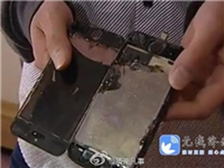 Den luot iPhone 5S chay - Anh 1