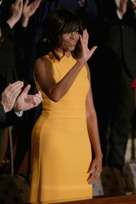44 buc anh cho thay su thay doi trong phong cach cua Michelle Obama (Phan 2) - Anh 13