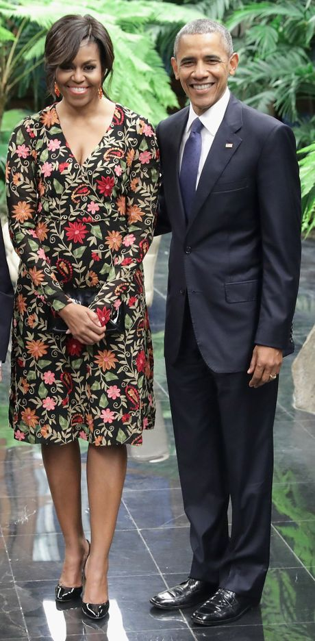 44 buc anh cho thay su thay doi trong phong cach cua Michelle Obama (Phan 2) - Anh 15