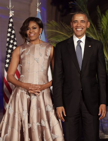 44 buc anh cho thay su thay doi trong phong cach cua Michelle Obama (Phan 2) - Anh 16