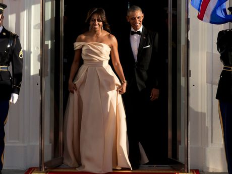 44 buc anh cho thay su thay doi trong phong cach cua Michelle Obama (Phan 2) - Anh 19