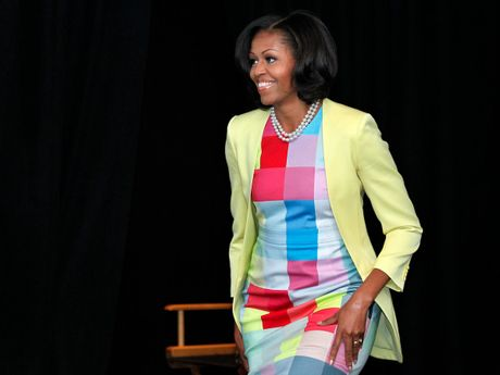 44 buc anh cho thay su thay doi trong phong cach cua Michelle Obama (Phan 2) - Anh 2