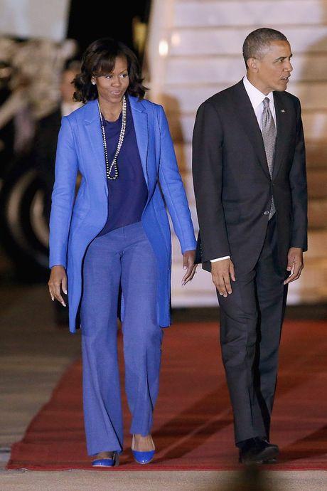 44 buc anh cho thay su thay doi trong phong cach cua Michelle Obama (Phan 2) - Anh 7