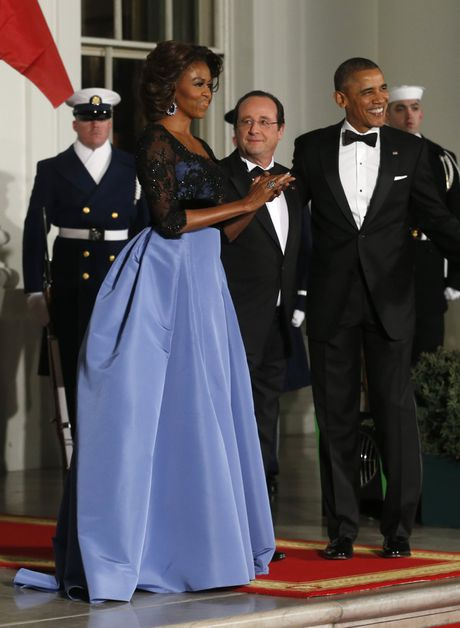 44 buc anh cho thay su thay doi trong phong cach cua Michelle Obama (Phan 2) - Anh 9