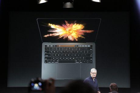 Apple cong bo MacBook Pro moi, mong nhe hon va co cam bien van tay - Anh 1