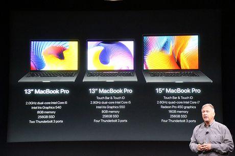 Apple cong bo MacBook Pro moi, mong nhe hon va co cam bien van tay - Anh 3
