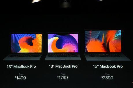 Apple cong bo MacBook Pro moi, mong nhe hon va co cam bien van tay - Anh 4