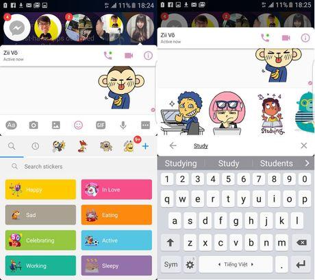 7 meo cuc hay tren Facebook Messenger co the ban chua biet - Anh 3