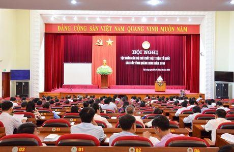 MTTQ Quang Ninh tap huan can bo chu chot nam 2016 - Anh 1