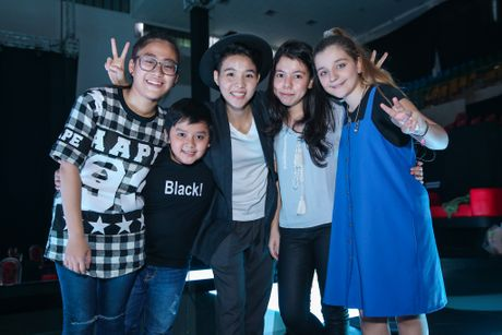 Thi sinh The Voice Kids met moi tap luyen cho dem chung ket - Anh 7
