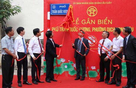 Ha Noi gan bien ten danh nhan cho 3 duong pho - Anh 1