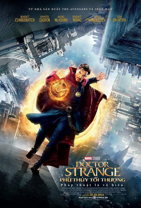 'Doctor Strange': Tac pham ky xao man nhan nhat 2016 - Anh 1