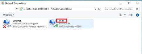 Huong dan tao to hop phim bat/tat Wi-Fi nhanh cho PC chay Windows 10 - Anh 1