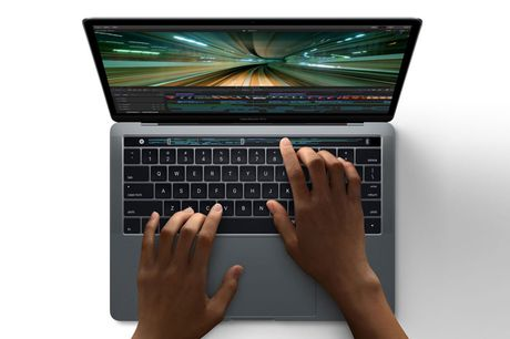 Can canh ve dep cua MacBook Pro 2016 - Anh 1