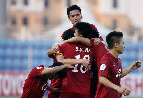 Cau thu U19 o at len tuyen U22 Viet Nam cho dau Trung Quoc - Anh 1