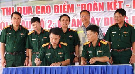 Cao toc Da Nang- Quang Ngai: Phat dong 60 ngay 'quyet thang' ve dich - Anh 1