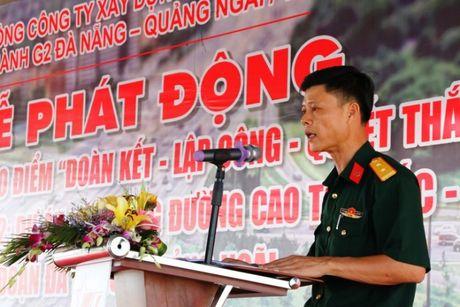 Cao toc Da Nang- Quang Ngai: Phat dong 60 ngay 'quyet thang' ve dich - Anh 4