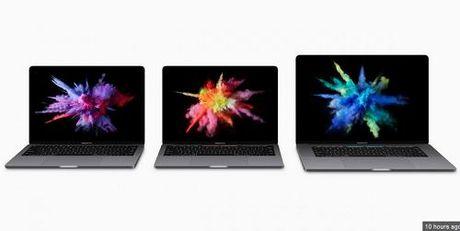 "Apple ra mat Macbook Pro moi: Mong, nhe va thiet ke Touch Bar ""sieu nang luc"" - Anh 2"