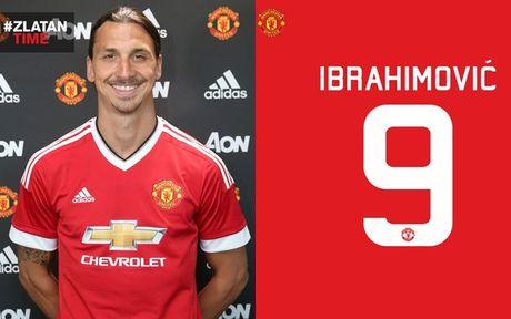 Zlatan Ibrahimovic va 'cai dop' so 9 o MU - Anh 1