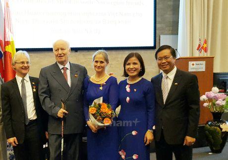Viet Nam tang Huan chuong Huu nghi cho Cuu Ngoai truong Na Uy - Anh 2