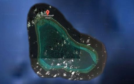 Philippines khang dinh tau Trung Quoc da roi khoi Bai Scarborough - Anh 1