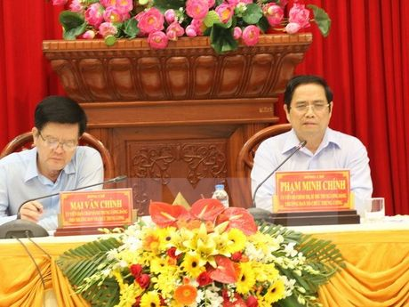 Ban To chuc Trung uong: Tien Giang can coi trong quan ly can bo - Anh 1