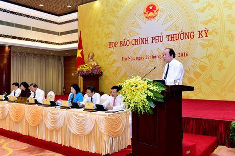 Noi dung hop bao Chinh phu thuong ky thang 10 - Anh 2