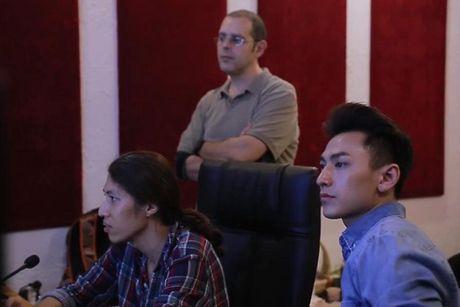Isaac long tieng cho phim hoat hinh 'Quy lun tinh nghich' - Anh 3