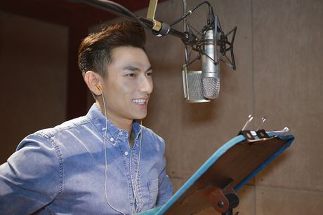 Isaac long tieng cho phim hoat hinh 'Quy lun tinh nghich' - Anh 4