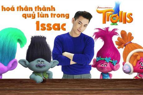 Isaac long tieng cho phim hoat hinh 'Quy lun tinh nghich' - Anh 7