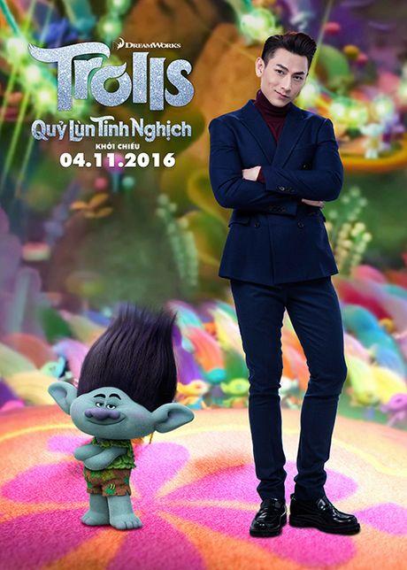 Isaac long tieng cho phim hoat hinh 'Quy lun tinh nghich' - Anh 8