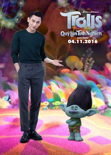 Isaac long tieng cho phim hoat hinh 'Quy lun tinh nghich' - Anh 9