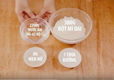 Cac buoc lam pizza cuc ngon bang noi com dien - Anh 2